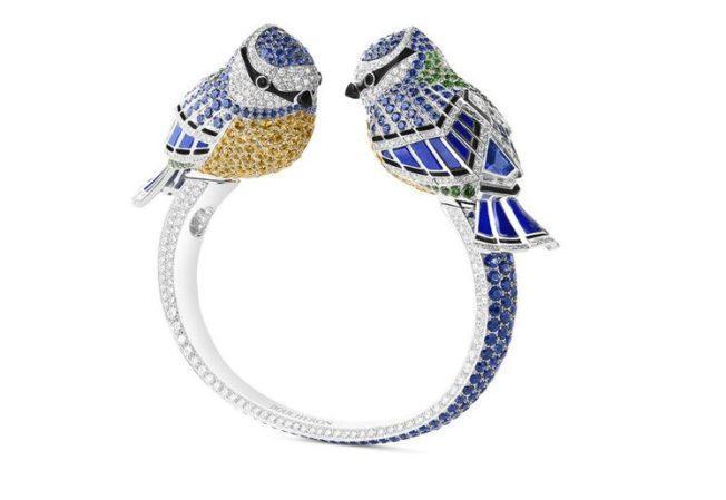Анималистика: кольца в виде животных. Птицы.