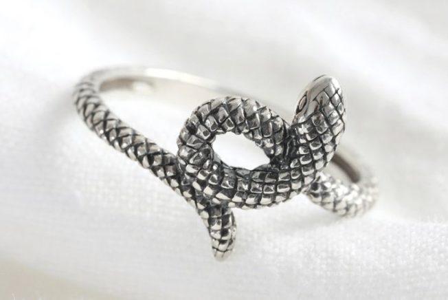 Анималистика: кольца в виде животных. Змеи.