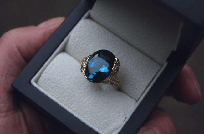 Топаз — самый популярный из ювелирных камней