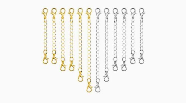 Как удлинить золотую цепь без пайки