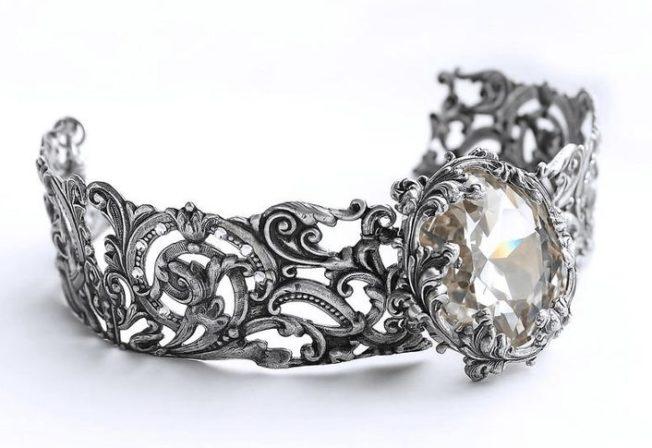 Филигранные женские браслеты: кружева из металла