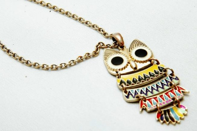 Подвеска Сова — символ мудрости и тайного знания