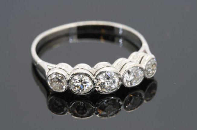 Кольца с 5 камнями: виды, значение, дизайн