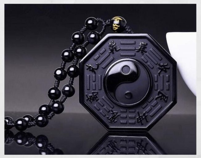 Подвеска Инь-Ян — гармония темного и светлого начала
