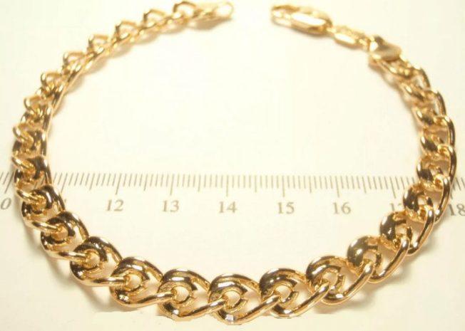 плетение лав золотой браслет