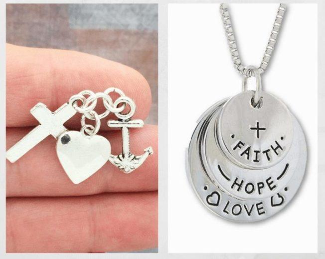 Подвеска «Вера, надежда, любовь» — символ, которому более 2000 лет