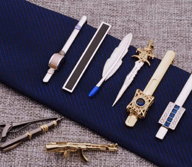 Зажим для галстука, подарок для мужчин