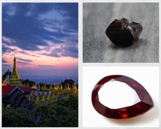 10 самых редких драгоценных камней. Пейнит (паинит)