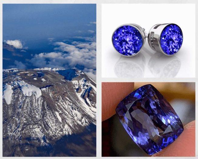 10 самых редких драгоценных камней. Танзанит