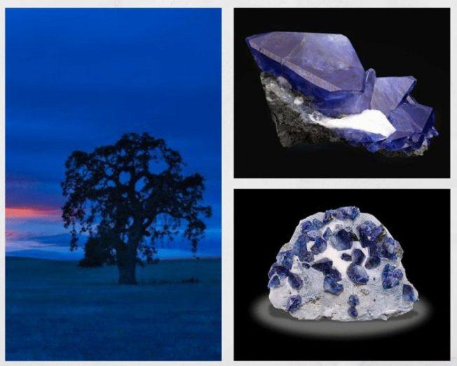 10 самых редких драгоценных камней. Бенитоит