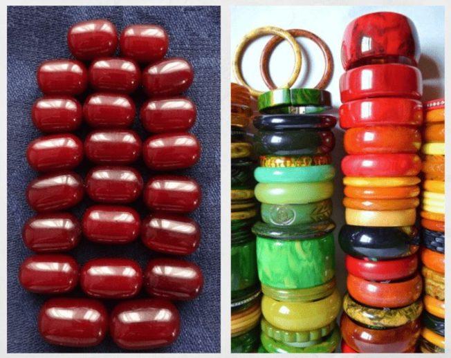 Бакелитовые бусы — украшение из бабушкиной шкатулки