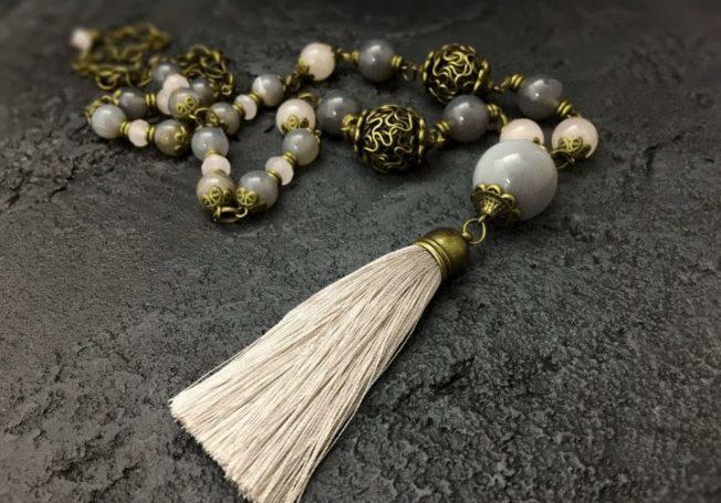 Кулон-кисть — символ богемного шика