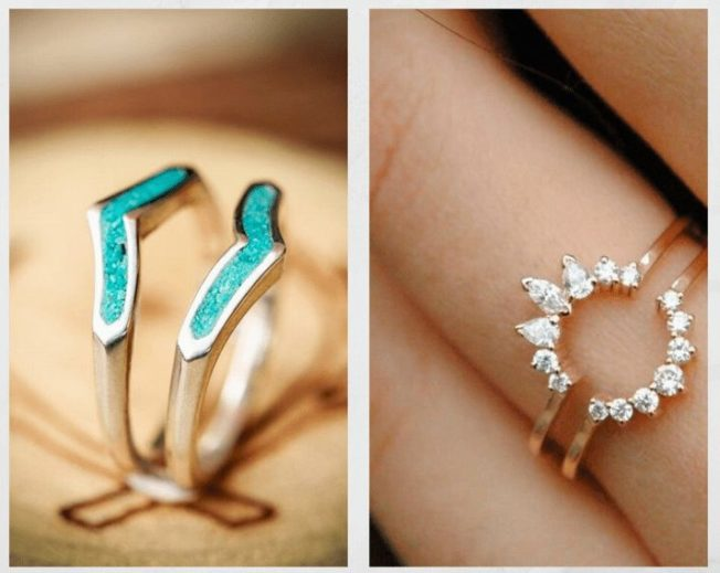 Кольцо-ободок: украшение для вашего солитера