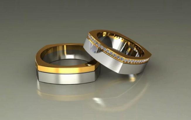 Квадратные обручальные кольца: удобно ли это