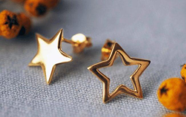 Серьги со звездами — повод загадать желание
