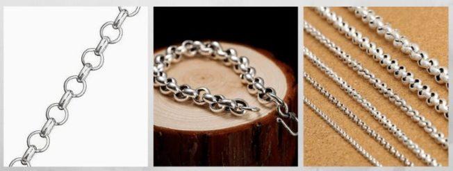 плетение Ролло, Бельцер, Шопард цепи браслеты
