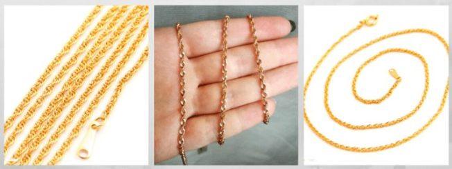 плетение Форцатино Допио цепи браслеты