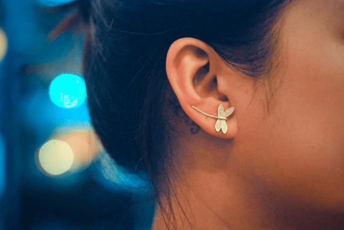 Клаймберы — серьги, «ползущие» по уху