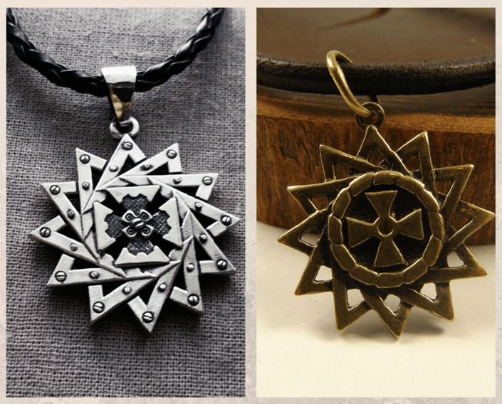 Подвеска Звезда Эрцгаммы — гармония внутри и снаружи