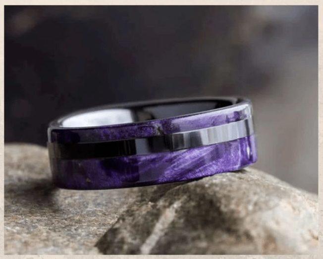Гипоаллергенные керамические обручальные кольца