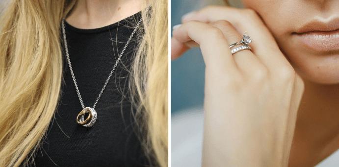 Можно ли носить обручальное кольцо на цепочке на шее: значение и ...