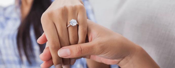 Как правильно носить помолвочное кольцо и можно ли носить его ...