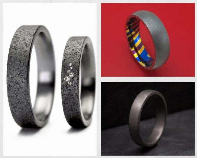 Обручальные кольца из тантала