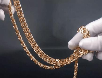 Чем и как можно почистить золотую цепочку дома?
