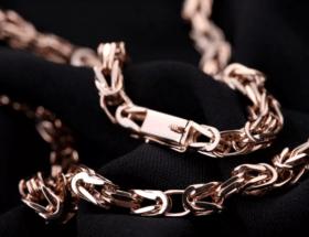 Особенности византийского плетения цепочки