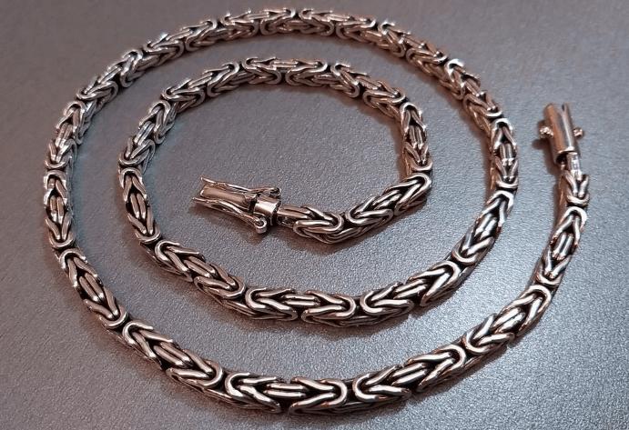 Преимущества византийского плетения цепочки из золота