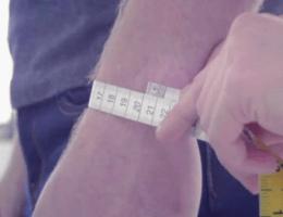 Способы определения размера мужского браслета
