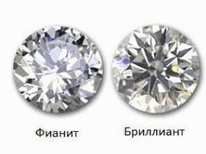 Бриллиант или фианит: как отличить камни в кольце