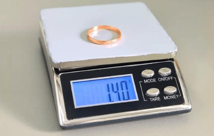 Как грамотно определить вес обручального кольца
