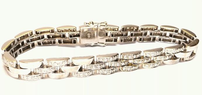Как почистить браслет из белого золота?