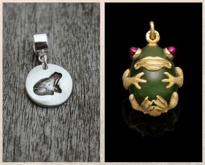 Подвеска Лягушка — символ богини Афродиты