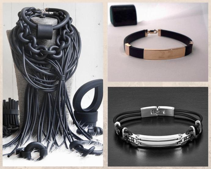 Каучуковый браслет: недорогой и стильный, идеи оформления