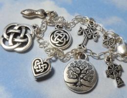 Подвеска Кельтский узел любви: для сплетенных вместе сердец