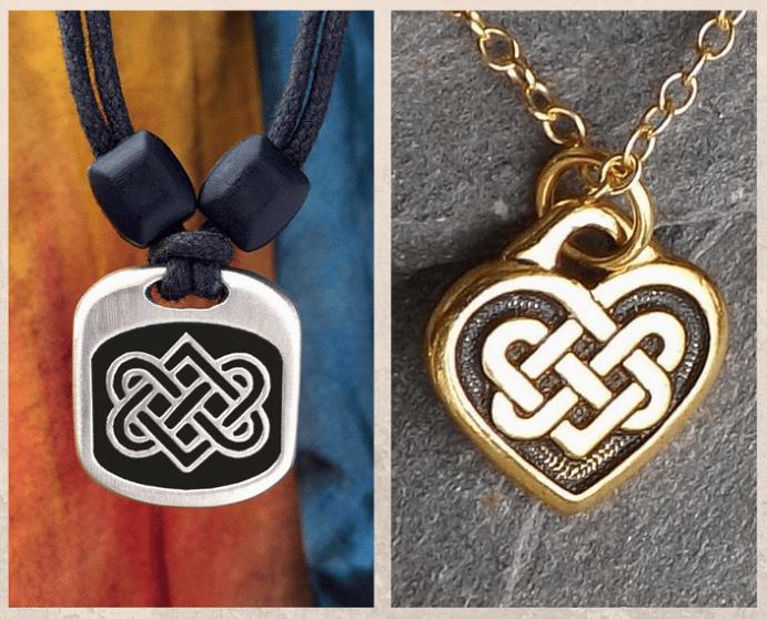 Подвеска Кельтский узел любви: для сплетенных вместе сердец. История символа, что означает Кельтский узел