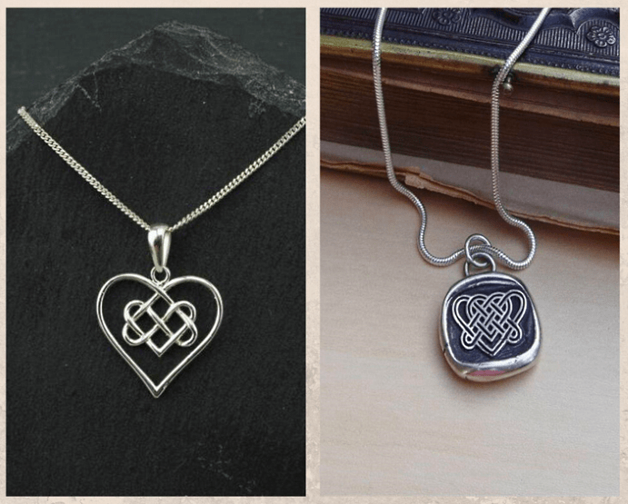 Подвеска Кельтский узел любви: для сплетенных вместе сердец. Как носить