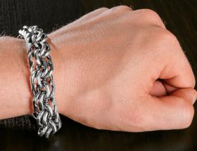 Самые модные мужские браслеты на руку: виды