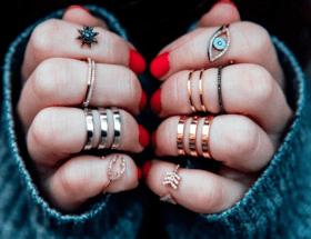 Ношение колец на пальцах: значение