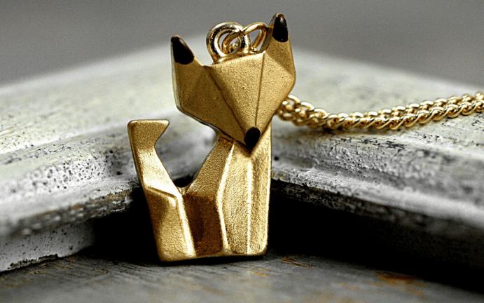 Украшения оригами: красота геометрии