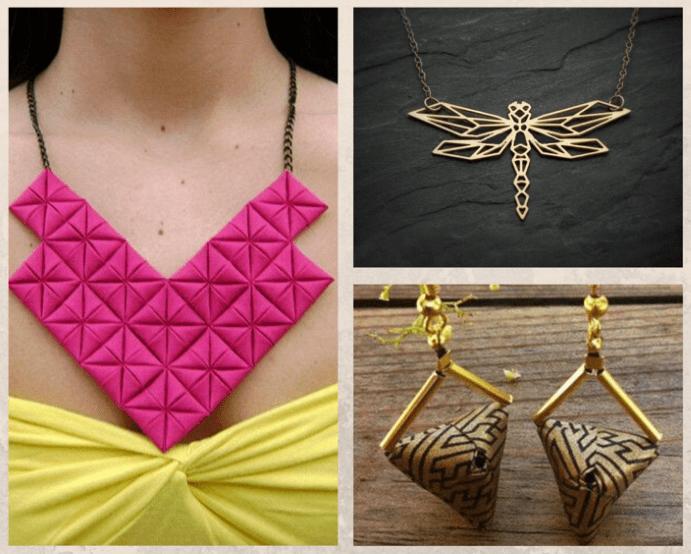 Украшения оригами: красота геометрии. Оригами в ювелирном деле