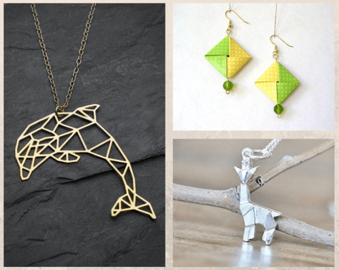 Украшения оригами: красота геометрии, идеи использования