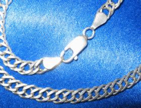 Как грамотно отбелить серебряную цепочку?
