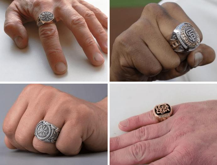 На каком пальце носят печатку мужчины: мнение психолога