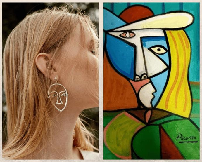 Серьги «Лица Пикассо»: наследие великого художника, как появилась идея