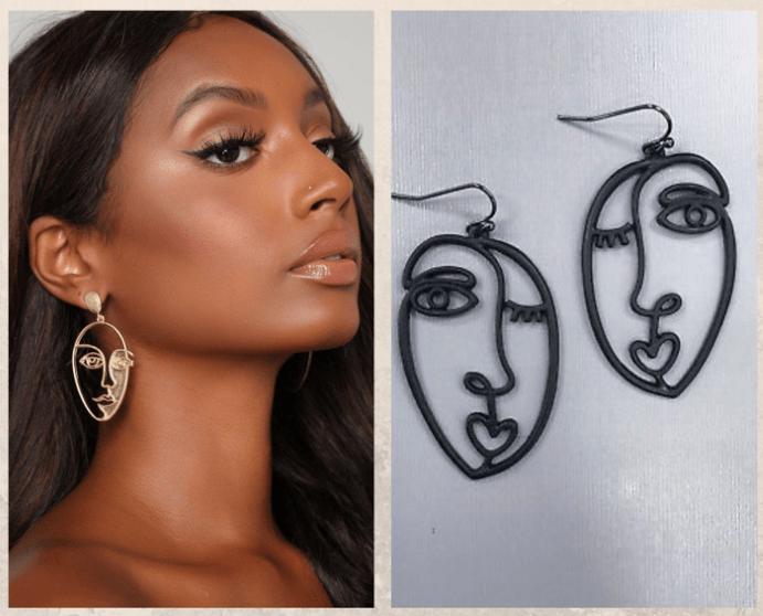 Серьги «Лица Пикассо»: наследие великого художника, виды