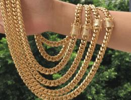 Плюсы и минусы пустотелых цепей из золота