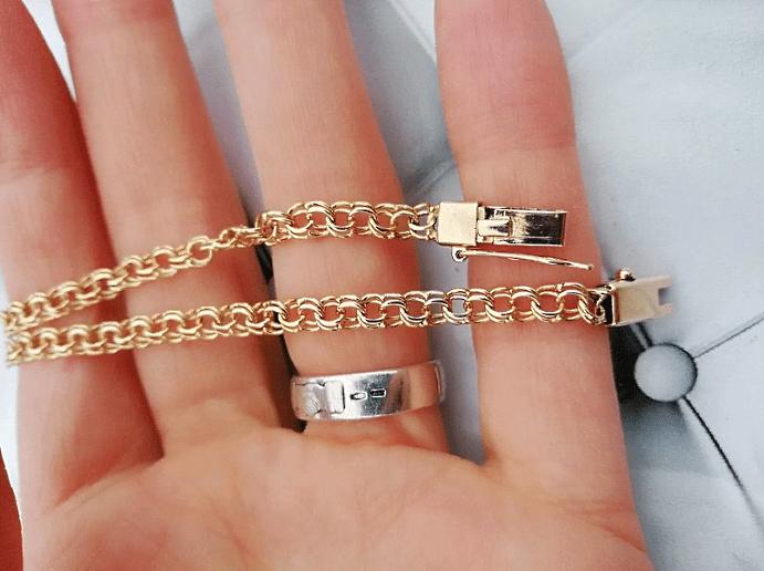 Пустотелые цепи из золота: плюсы и минусы